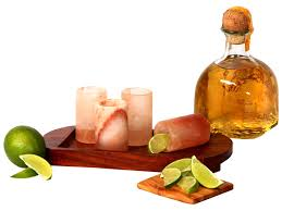 the e lab himalayan salt tequila shot glass tray set large2