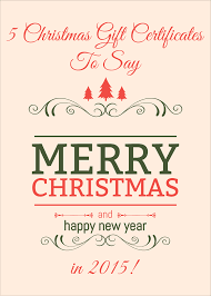 Microsoft Word Gift Certificate Template Christmas Gift Vouchers Templates Free Download Cardsificate