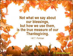 Thanksgiving Quotes And Sayings. QuotesGram via Relatably.com