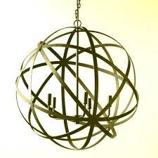 large metal orb chandelier elegant large orb chandelier fresh industrial chic crystal chandelier metal orb light