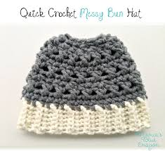 Messy Bun Beanie Knitting Pattern Cool Design Inspiration