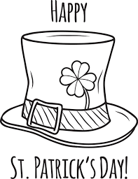 St Patricks Day Coloring Happy St Patricks Day Coloring Page St Patricks Day