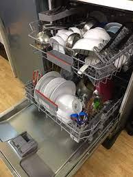 Gợi ý không gian đặt máy rửa bát độc lập và máy rửa bát bán âm
