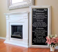 Chalkboard Kitchen Wall Kitchen Chalk Art Etsy