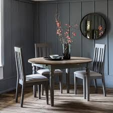 gallery direct cookham grey dining table 120cm extending round