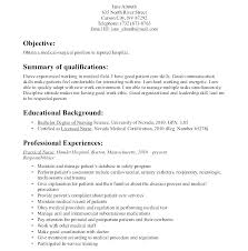 Nurse Educator Resume Resume Nurse Objective Paknts Com