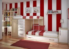 ... Incredible Interior Design For Kids Room Decor Ideas : Stunning Red  Theme Kids Room Decoration Using ...