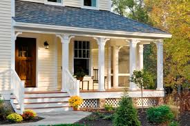 Nice Front Porch Ideas With Stone And More