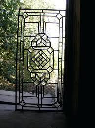 leaded glass door inserts replacement leaded glass door inserts