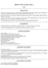 Medical Resume Template Curriculum Vitae Template Medical
