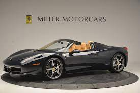 Meet the most powerful convertible ferrari has ever made, debuting today at the 2014 paris motor show. Pre Owned 2014 Ferrari 458 Spider For Sale Miller Motorcars Stock 4513