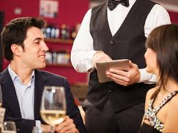 restaurant waiter taking order.  Restaurant Mobile Ordering System For Your Waiters In Restaurant Waiter Taking Order