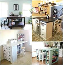 diy craft table top craft room tables inviting cool table ideas for your regarding 2 small home interior decoration ideas