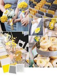 15 wedding color combos you've never seen Wedding Decorations Yellow And Gray yellow gray silver modern gray wedding decor wedding decorations yellow and gray