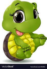 Little turtle Royalty Free Vector Image - VectorStock