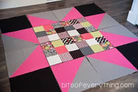 Big Block Quilt Patterns Fascinating Big Block Quilt Pattern Bits Of Everything