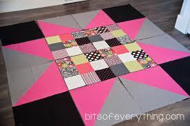 Big Block Quilt Patterns Fascinating Big Block Quilt Pattern Bits Of Everything