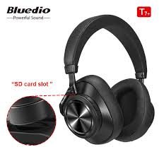 <b>Bluedio T7 Plus</b> Bluetooth Headphones User defined Active Noise ...