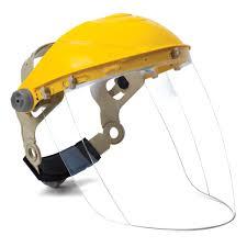 Faceshield With Headgear And Visor Sparcweld Welding Supplies A
