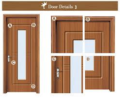 office entry doors. Custom Sizes Hdf Veneer Insert Frosted Glass Office Entry Doors O