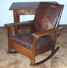 rocking chair leather antique rocking chairs styles furniture antique oak rocking chair leather seat