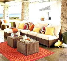 outdoor pottery barn furniture stain sectional patio wonderful beautiful sofa throughout wicker w