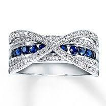 thin red and blue line ring thin blue line with diamonds yes please