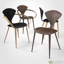 cherner furniture. Cherner Side Chair And Armchair 3d Model Max Obj 3ds Fbx Mtl 1 Furniture