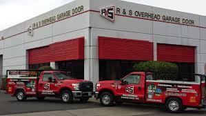 r s overhead garage doors inc
