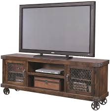 industrial tv stand. Serene Industrial Tv Stand