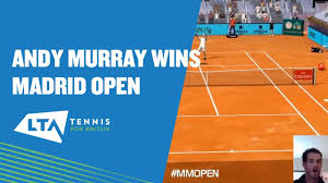 Highlights as Andy Murray wins the Mutua Madrid Open Virtual Pro - YouTube