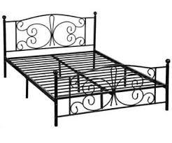 metal platform bed frame. Image Is Loading New-Metal-Platform-Bed-Frame-with-Headboard-and- Metal Platform Bed Frame