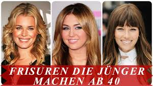 Frisuren Die J Nger Machen Ab 40 Youtube