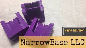 Purple Magazine Holder Nerf Review NarrowBase LLC Double Magazine Holder 100D Printed 78