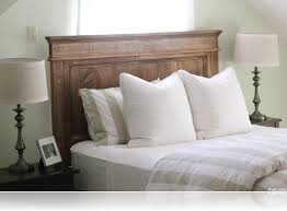 back to homemade headboards as bedding ideas
