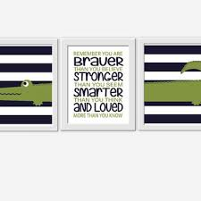 navy blue and green wall art