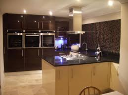 Kitchen Worktop Granite Absolute Black Granite Polished Contemporary Kitchen Countertops