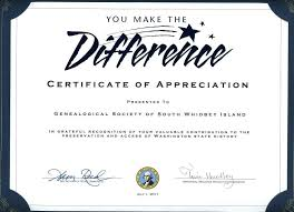 Words Of Appreciation For Employee Certificate Of Appreciation Words Thank You Certificates For