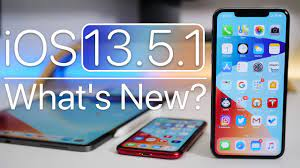 iOS 13.5.1 is Out! - What's New? - YouTube