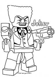 Small Picture Printable lego batman joker coloring pages for boy Printable