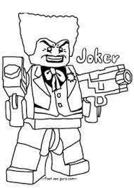 Printable Lego Batman Joker Coloring Pages For Boy Printable