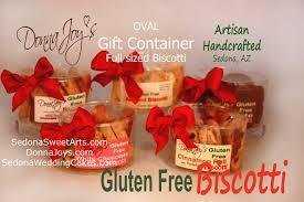 oval gift gluten free biscotti