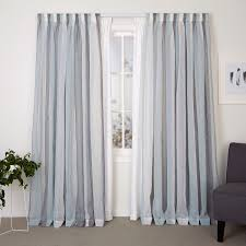 A double track allows you to hang Readymade Sheer Curtains on the front  track for daytime privacy and a Lining Curtain on the back track for extra  ...