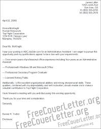 office cover letters cover letter examples admin assistant plks tk