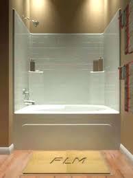 one piece tub shower unit essence 4 units 2 1 piece tub and shower unit one bath units fiberglass fibe