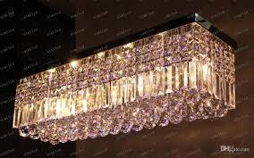 cool inspiration rectangle crystal chandelier clarissa drop rectangular pottery barn