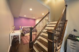 basement stairs railing. Finish Basement Stairs Ideas Pictures To Pin On Pinterest Railing