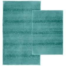 garland rug essence sea foam 21 in x 34 in nylon washable bathroom 2