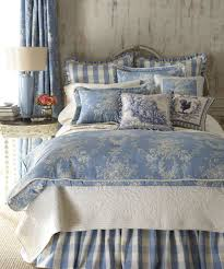 blue toile quilt. Contemporary Blue To Blue Toile Quilt Canadian Log Homes