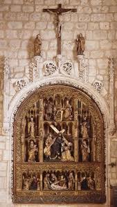 le retable de st denis de l eglise collegiale de saint denis a  passion of the christ essay online essays for